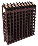 Wine Racks America Ponderosa Pine 10 Column 10 Row Display Top Kit. 13 Stains to Choose From!