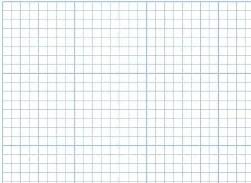 Alvin 1420-14 Cross Section Paper 8 inches x 8 inches Grid 100-Sheet Pack 17 inches x 22 inches