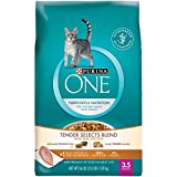 Purina ONE Purposeful Nutrition Dry Cat Food - Chicken & Turkey Flavor - 3.5 lb