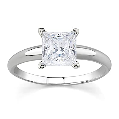 ring in comfort diamond prong flat gold four a end enr edge pave set white fit v engagement princess solitaire corner cut cathedral open platinum