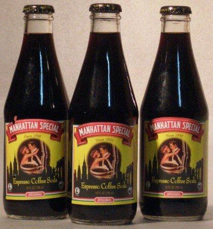 Manhattan Special Espresso Coffee Soda 4/Pack -