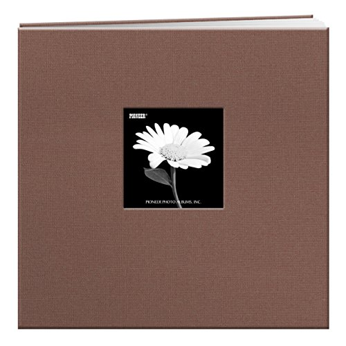Pioneer 12-Inch by 12-Inch Fabric Frame Scrapbook, Warm M...
