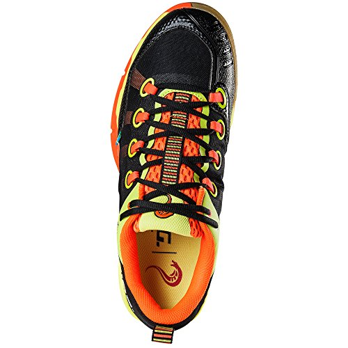 Salming Kobra Mens Squash Shoes Nero / Arancione