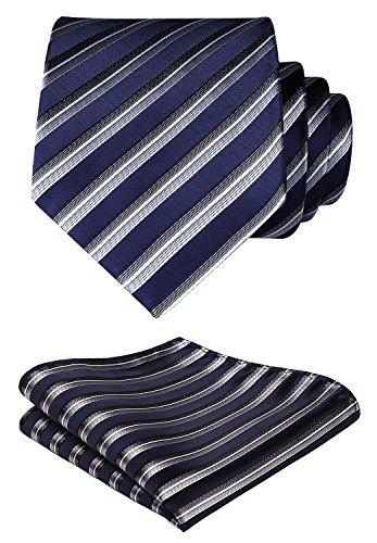 Handkerchief Necktie Set - 7