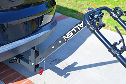 Allen Sports Deluxe Locking Quick Release 4-Bike Carrier for 2'' Hitch by Allen Sports (Image #6)