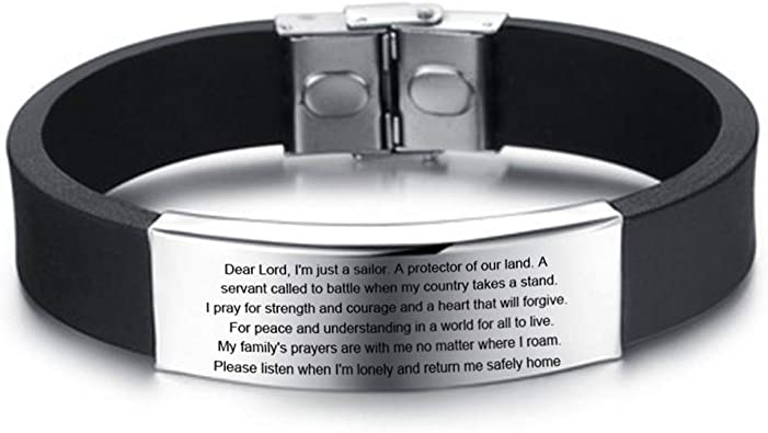 Customizable mother/'s day bracelet-stainless steel anchor
