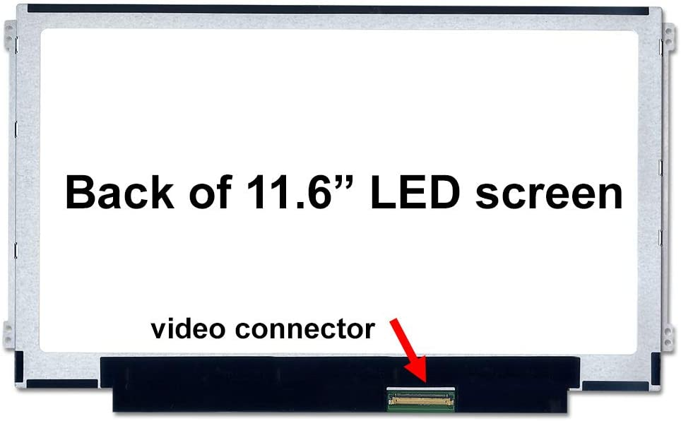 SCREENARAMA New Screen Replacement for LTN116AT07 Matte HD 1366x768 LCD LED Display with Tools