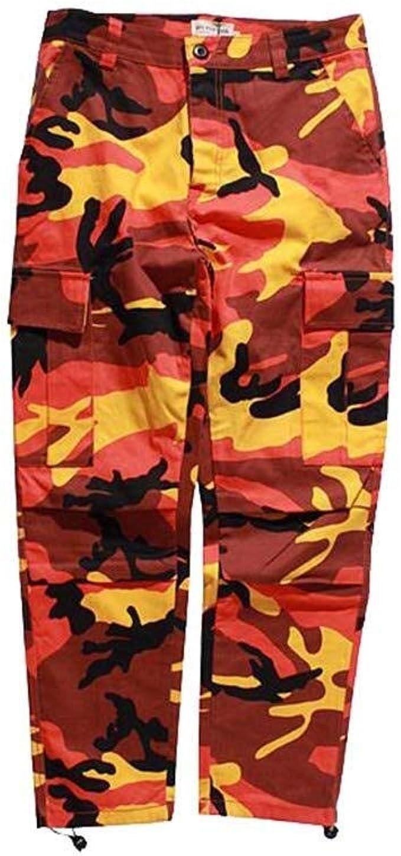 Color Camo BDU Pantalones Camuflaje De Hombres Festiva Ropa Cargo ...