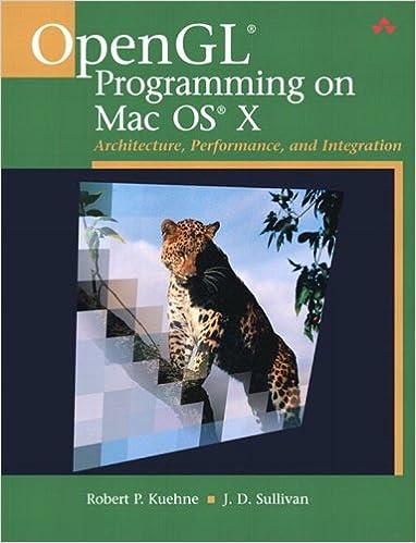 Amazon com: OpenGL Programming on Mac OS X: Architecture
