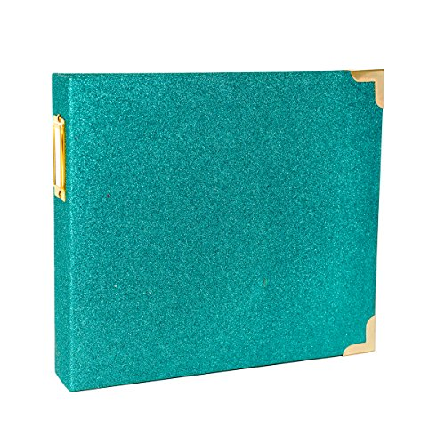 Project Life Heidi Swapp Scrapbook Album - 8 by 8 inch - Glitter Teal