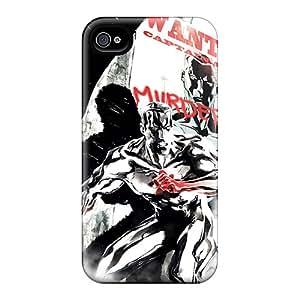 High Grade Williams6541 Flexible Tpu Case For Iphone 4/4s - Captain Atom I4