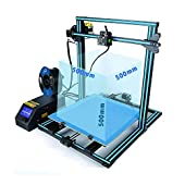 "HICTOP 3DP-12 Auto Leveling Desktop 3D Printer, Prusa I3 DIY Kit High Accuracy, CNC Self-Assembly,Printing Size 10.6"" x 7.9"" x 7.7"""
