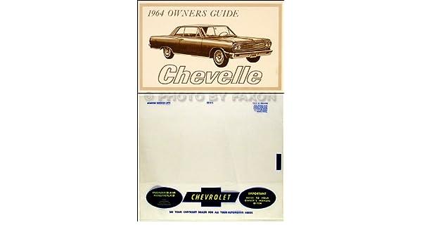 1964 Chevrolet CHEVELLE EL CAMINO 64 reference MALIBU
