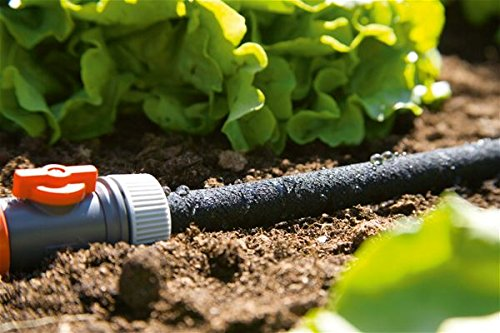 Regler orange Gardena 196626/Gartenschlauch MICROPOROUS 25/m