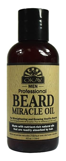 a3b64717d3f1 Amazon.com   OKAY Men s Beard Miracle Oil