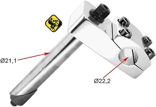 Power - Potencia para manillar de bicicleta BMX de 22,2 mm: Amazon.es: Coche y moto