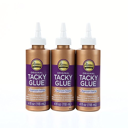 Aleene's 3PK Original Tacky Glue 3 Pack, 4 oz