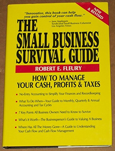 100 best selling accounting books of all time bookauthority book cover of robert e fleury the small business survival guide how to fandeluxe Gallery
