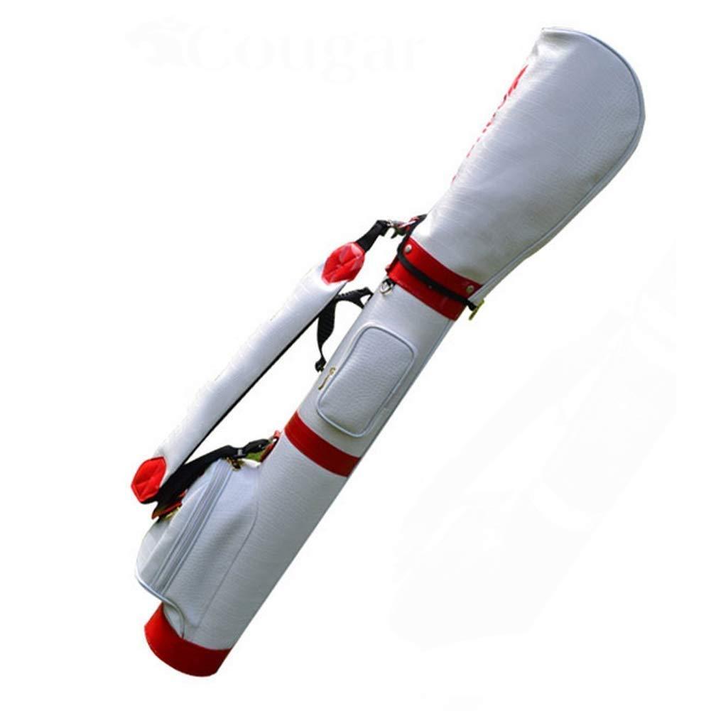 LJALJJ ゴルフスタンドゴルフバッグウォーキングゴルフバッグ超軽量で持ち運びに便利なデュアルストラップ付きのゴルフコースでの持ち運びに最適