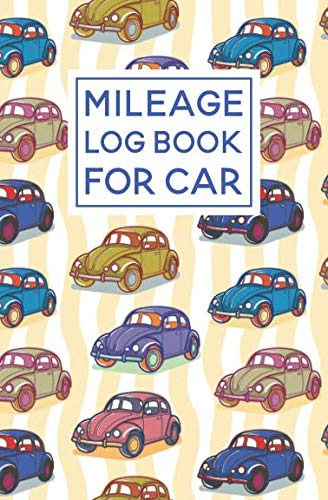 Mileage Log Book For Car: Bug Pattern Cover Design | Expense Tracker Notebook ()