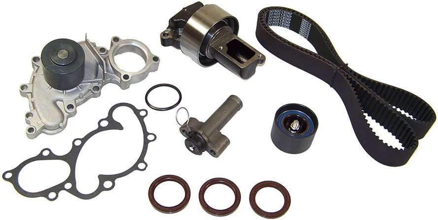 ECCPP Fits 95-04 Toyota Tacoma 4Runner T100 3.4L 3.4 DOHC 5VZFE Timing Belt Water Pump kit Tensioner