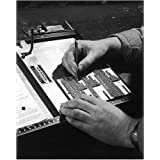 Photographic Print of Typesetter at work by Media Storehouse