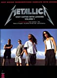 Metallica for Easy Guitar with Lessons, ...