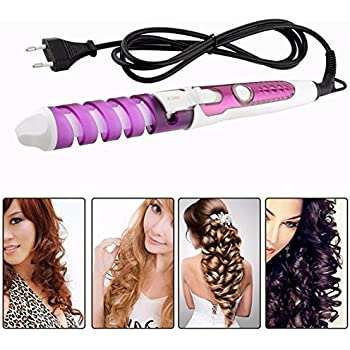 Shuangklei Electric Magic Hair Styling Tool Hair Curle Spiral Curling Iron Wand Curl Styler