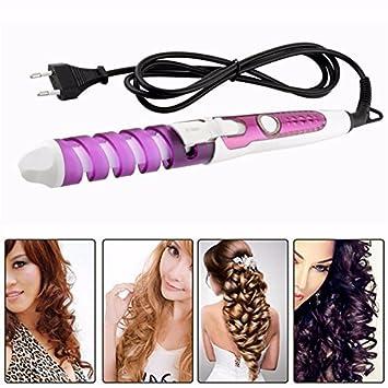 Shuangklei Magic Herramienta Eléctrica De Peinado Cabello Rizador Espiral Curle Wand Curl Styler: Amazon.es: Salud y cuidado personal