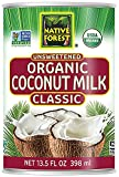 Native Forest Organic Classic Coconut Milk, 13.5 Ounce Cans (Pack of...