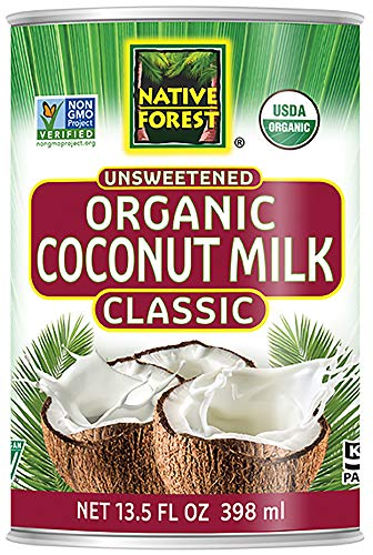 (Native Forest Organic Classic Coconut Milk, 13.5 Ounce Cans (Pack of 12),Packaging may Vary)