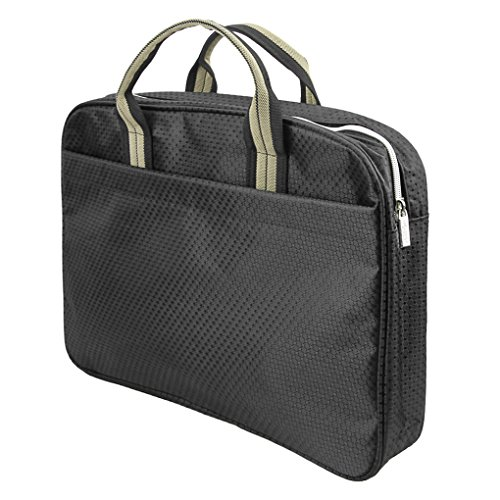 Top Handle Portable Business Briefcase Bag Envelope Expanding File Folder  Laptop Bag Portfolio Document Tablet Holder c3b3d845c48a8