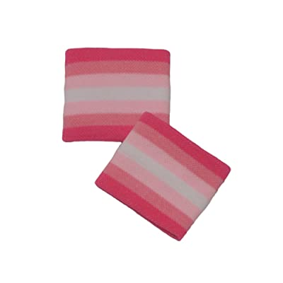 """Couver Cute Girl 2.5"""" Width x 2"""" Length Wristband, (1 pair)"""