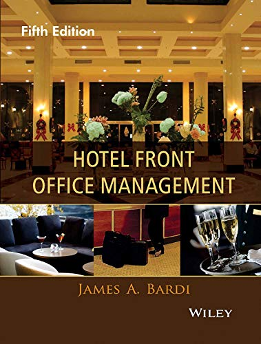 Hotel Front Office Management, 5Th Edn