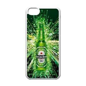 iPhone 5C Phone Case White HeineKen IH4485225