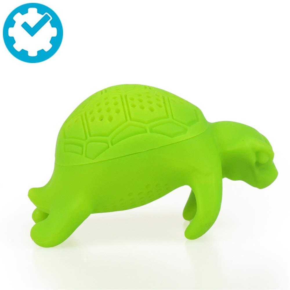 Mings Petit filtre à tortue vert filtre à thé Turtle Infuser