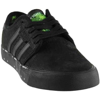 ef72b635b adidas Men Originals Seeley X Ari Marcopoulos Shoes (8) Core Black