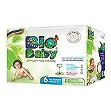 Bio Baby Pañales, Talla 6 XX Grande, 60 piezas (La imagen del empaque puede variar)