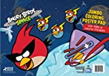 Angry Birds Space Jumbo Coloring Poster Pad
