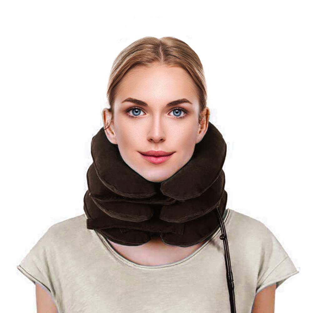 Best QUALITY Soft Air Pneumatic Neck protector Mobility Painless aid