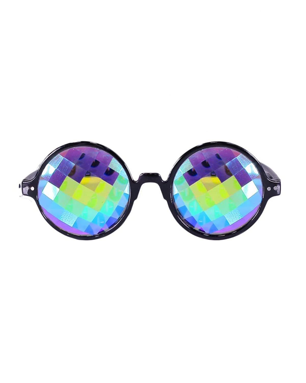 Emazing Lights Grid Kaleidoscope Diffraction Prism Rave Glasses