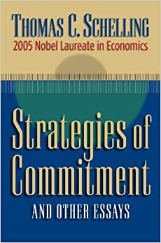 Book Strategies of Commitment and Other Essays