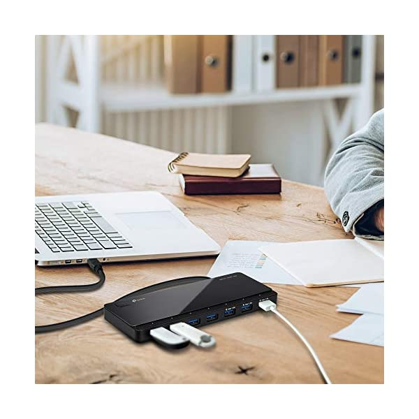 TP-Link TL-UH700 7-Port USB Hub (Black)