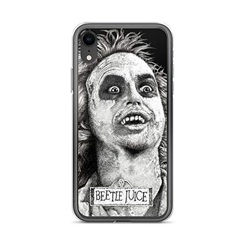 iPhone XR Case Anti-Scratch Motion Picture Transparent Cases Cover Beetlejuice Movies Video Film Crystal Clear -
