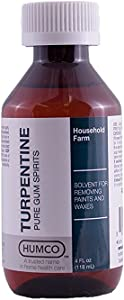 TURPENTINE GUM SPIRITS 4 OZ by Marble Medical