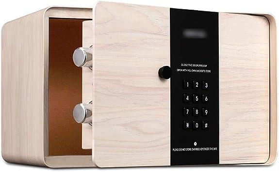 QFFL Caja fuerte, Caja de Seguridad Segura for El Hogar, Caja de Seguridad con Código Y
