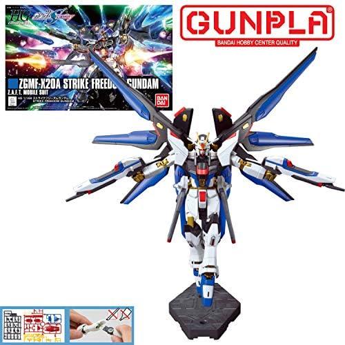 GUNDAM - HG 1/144 ZGMF-X20A Strike Freedom Gundam - Model Kit: Amazon.es: Juguetes y juegos