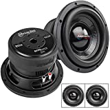 2 Pack American Bass 8' High Power Subwoofer Dual 4 Ohm 600W Max Sub Bass XD-8
