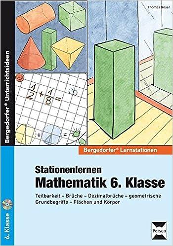 Stationenlernen Mathematik 6. Klasse: Teilbarkeit - Brüche ...
