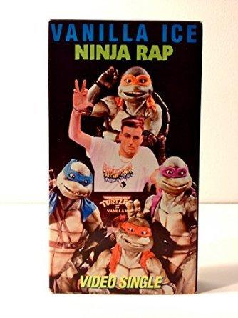 Ninja Rap [USA] [VHS]: Amazon.es: Vanilla Ice: Cine y Series TV